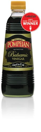 Pompeian Balsamic Vinegar Aged in Oak 16 Oz (Pack of 2)
