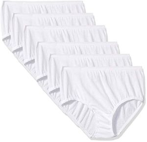 Fruit of the Loom Girls' Cotton Brief Underwear, Assorted