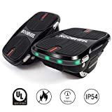 Transfomerable & Convertible Hovershoes Electric Roller Skating Shoes/Self Balancing Hoverboard 2 in 1