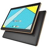 Plum 10' Phablet -Smart Phone- Tablet Unlocked 4G GSM USA Worldwide Android 5.1 Quad Core Dual Sim - Black