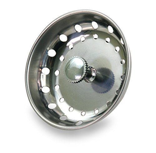 EverFlow 75111 Kitchen Sink Basket Strainer Replacement for Standard...