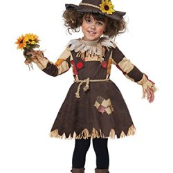 California Costumes Pumpkin Patch Scarecrow Toddler Costume, Brown, TD (3-4)