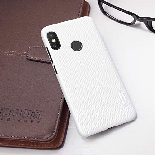 Nillkin Case for Xiaomi Redmi Note 6 Pro Super Frosted Hard Back Cover Hard PC White Color 3