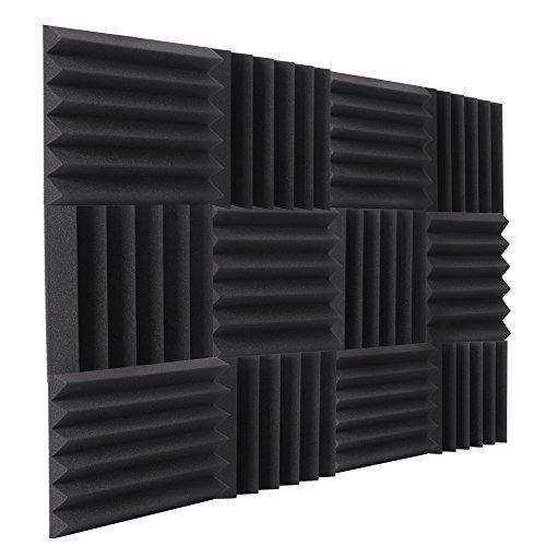 Double Thick Studio Acoustic Wedge Foam...