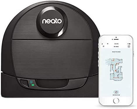 Neato Robotics D6 Connected Laser Guided Robot Vacuum for Pet Hair, Works with Amazon Alexa