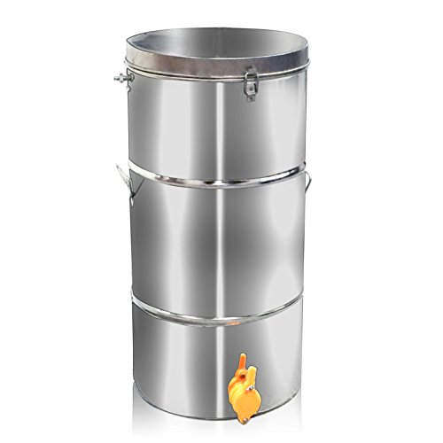 2-Frame Stainless Steel Honey Extractor SS Beekeeping Equipment