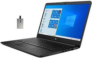2020 HP 14″ HD Laptop Computer, 3rd Gen AMD Ryzen 3-3250U Processor, 8GB RAM, 1TB HDD, AMD Radeon Graphics, HD Audio, Webcam, USB-C, HDMI, Bluetooth, Windows 10 S, Jet Black, 32GB SnowBell USB Card