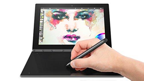 Lenovo Yoga Book - FHD 10.1' Android Tablet - 2 in 1 Tablet (Intel Atom x5-Z8550 Processor, 4GB RAM, 64GB SSD), Gunmetal, ZA0V0035US