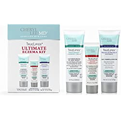 TrueLipids Ultimate Eczema Kit for Dry Skin, Itch Relief and Moisturizer