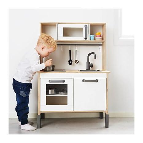 Ikea Minikitchen Duktig Incl Parte Superiore Growthening Cucina In Legno Gioco Da 3 Anni