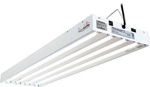 Hydrofarm FLT44 System Fluorescent Grow Light, 4-Feet