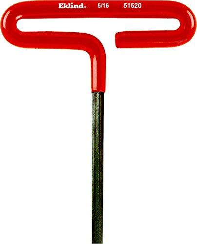 Eklind 51620 Standard Cushion Grip T-Handle Hex Key 5/16' x 6'