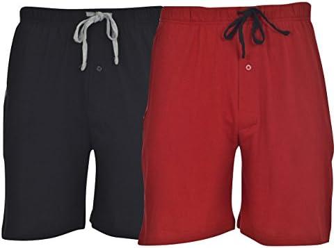 Hanes Men's 2-Pack Cotton Knit Short 1