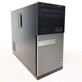 Dell Optiplex 9010 MiniTower MT Business Home Desktop Computer Tower PC Intel Quad Core i7-3770 3.40GHz, USB 3.0, WiFi, DisplayPort, DVD-RW, Windows 10 Pro 64Bit, 160GB HDD, 16GB RAM (Renewed)