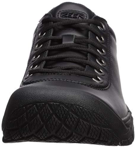 KEEN Utility Men's PTC Dress Oxford Work Shoe,Black,9.5 M US