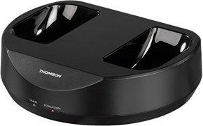 Thomson-Casque-sans-fil-TV-WHP3001BK-Over-Ear-avec-station-de-recharge-systeme-PLL-portee-100-m-863-MHz-sans-fil-Noir