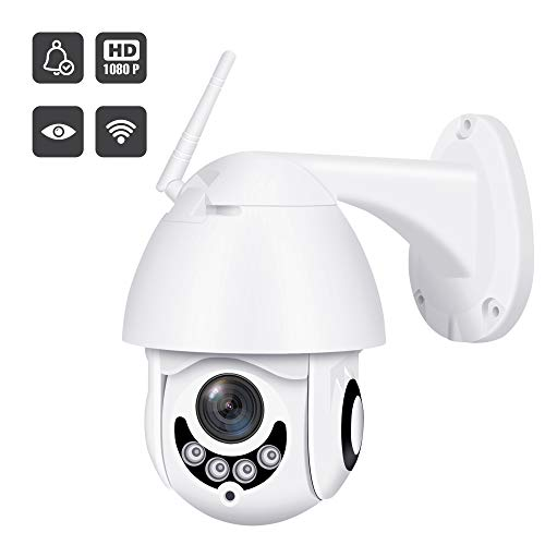 2019 Upgraded Full HD 1080P Security Surveillance Cameras Outdoor Waterproof Wireless PTZ Camera with Night Vision – IP WiFi Cam Surveillance Cam Audio Motion Activated