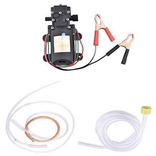 Electric Portable DC 12V Transfer Pump Extractor Suction Oil Fluid Water For Auto Marine Boat Diesel Car Motorbike