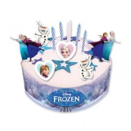 Kit di decorazione per torta a tema Disney Frozen