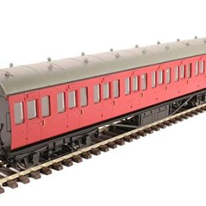 Hornby R4800 BR(Ex LMS) Non-Corridor Suburban Third Class Coach, Multi 41H6y 2BGxc0L