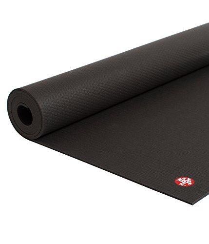 Manduka PROLite Yoga and Pilates Mat , Black Long + Wide, 79'