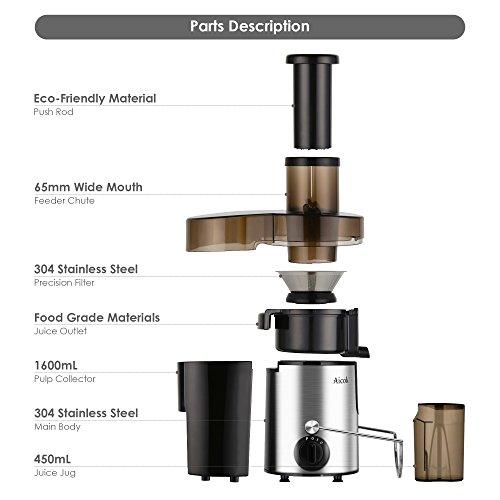 Aicok-Juicer-Juice-Extractor-BPA-Free-Premium-Food-Grade-Stainless-Steel-Dual-Speed-Setting-Juicer-Machine-400W