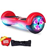 FLYING-ANT Hoverboards UL Certified 6.5 Smart Scooter Two-Wheel self Balancing Electric Scooter Light Free Bag and Charger Included