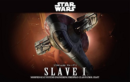 Bandai-Hobby-Star-Wars-1144-Slave-I-Building-Kit-Multi-Colored-8