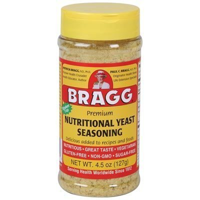 Bragg's Nutritional Yeast 4.5oz 2 Pack