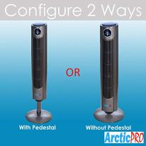 Arctic-Pro-Digital-Screen-Oscillating-Tower-Fan-with-Remote-Control-Dark-Gray-42-Inch