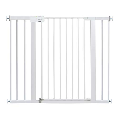 Safety 1st Easy Install Extra Tall and Wide Baby Gate with Pressure Mount Fastening