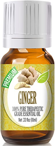 Ginger 100% Pure, Best Therapeutic Grade Essential Oil - 10ml