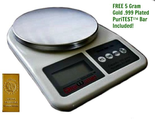 NEW! Weigh Your Scrap Gold/Silver with this DIGIWEIGH Digital Jewelry Scale! Measures over 1000 Grams, over 40 Ounces! Jewelry, Coin, Bar, Bullion Oz!