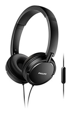 Philips Extra Bass Microphone Headphone (SHL5005/27)
