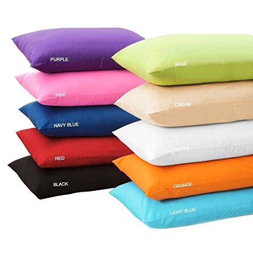 MoonRest Multi Colors - Body Pillow Cover Long Body Pillow Case%100 Cotton 20 x 54' with Zipper (Aqua)