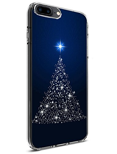 Ultra Slim Case for iPhone 8 Plus (2017) / iPhone 7 Plus (2016) 5.5 Inch Christmas Tree