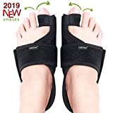 Caretras Bunion Corrector, Orthopedic Bunion Splint, Big Toe Separator Pain Relief, Hammer Toe Straightener, Day Night Support for Women Men (Simple Elegant Splints)