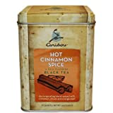 2 - Caribou Tea Tins 20 - Sachets per Tin (Hot Cinnamon Spice Tea)