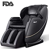 SGorri Massage Chair, Zero Gravity and Shiatsu Recliner with Bluetooth, Hip Heating, Foot Massage and Air Pressure for Whole Family, SG-5101