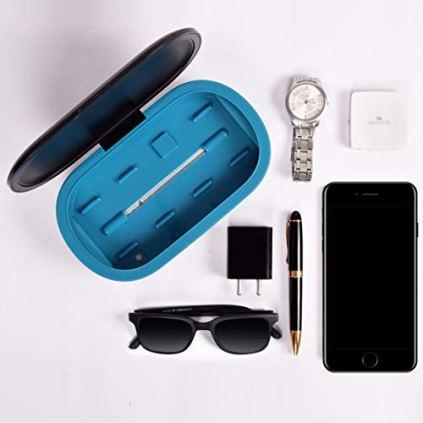 A-ARISTA-VAULT-Shuddhi-Box-10-SNABL-Certified-Mobile-SanitizerPortable-Sterilizerdisinfect-plus-wireless-charging