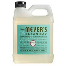 Mrs. Meyers Liquid Hand Soap Refill, Basil Scent, 33 Oz.