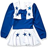 NFL Dallas Cowboys Girls DCC Cheer Set, ROY/WHT, Small