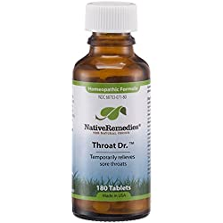 Native Remedies Throat Dr. for Infection Resistance (180 Tablets)