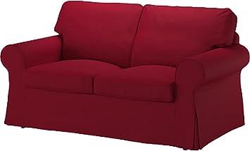 Slipcover Le Ektorp Canapé Lit Deux Places De Remplacement De Couverture Est Fait Sur Mesure Pour Ikea Ektorp 2 Places Sleeper Seulement Un Causeuse