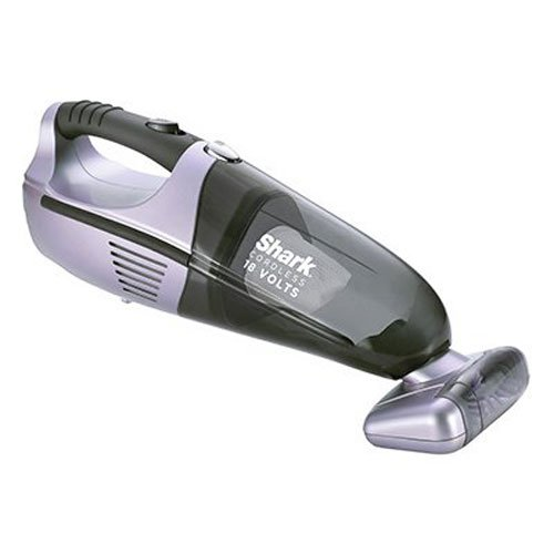 Shark Pet-Perfect II Cordless Bagless Hand Vacuum for Carpet and Hard Floor with Twister Technology and Rechargeable Battery (SV780), Lavender