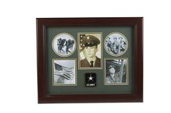 Army Medallion 5-Picture Collage Frame