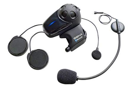 Sena SMH10-11 Motorcycle Bluetooth Headset / Intercom with Universal Microphone Kit (Single)