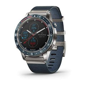 Garmin MARQ Captain, Men's Luxury Tool Watch with Advanced Nautical Features, Track Wind Speed, Direction, Temperature and Tide Information