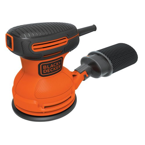 BLACK+DECKER BDERO100 Random Orbit Sander, 5-Inch