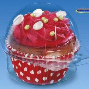 50 pcs Plastic Disposable Clear Box – Ice Cream Muffin Cupcake Food – 2200 41IQ6uxA6FL